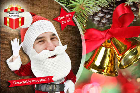 Beard Heads - Santa Beard Head  get into the festive spirit - Save 43%
