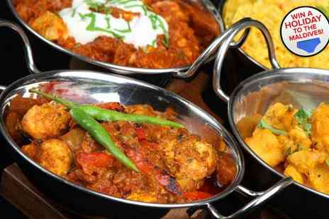 The Curry Leaf - Two course Indian meal for two - Save 53%