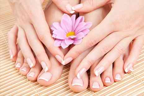 The Nail Workshop @ Hair Workshop - Choice of Manicure, Pedicure  or Both - Save 60%