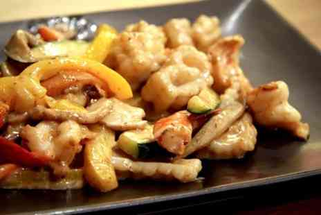 Jinja Tree - Three Course Teppanyaki Meal For Two or Four - Save 52%