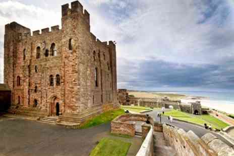 Bamburgh Castle - Entry For Two  - Save 38%
