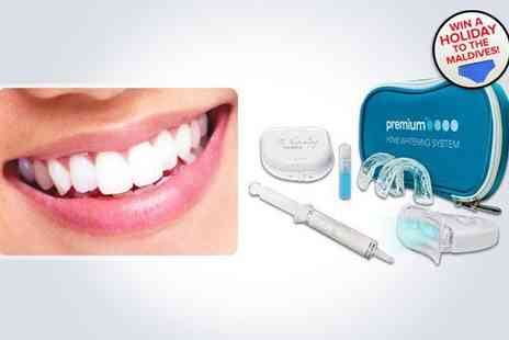 Just Smile - Non peroxide home teeth whitening kit - Save 84%