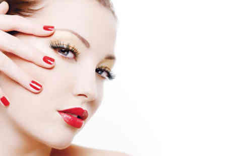NV Nouveau Visage - £18 for a one-hour Dermalogica Prescriptive Facial, eyebrow wax and Minx or Shellac nails - Save 71%