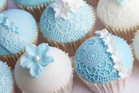 Vanilla Nova - 100 personalised cupcakes - Save 50%