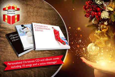 Mix Pixie - Personalised CD and album cover including message - Save 36%