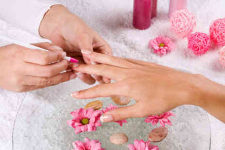 Elegance hair and beauty - £14 for a full set of Bio Sculptured Gel or Minx nails - Save 75%