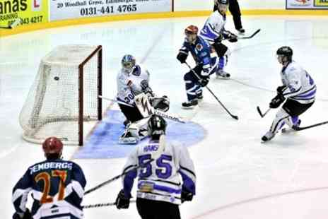 Edinburgh Capitals - Ice Hockey Edinburgh Capitals v Hull Stingrays Tickets - Save 57%
