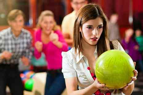 The Dunes - Two hours of bowling for up to six people, with shoe hire included - Save 86%