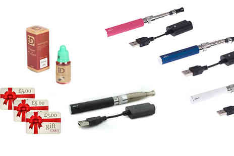 E Cignature - Quit the smoking habit with the help of this e-cigarette kit - Save 78%