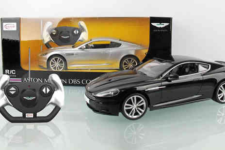Party Must Haves - Have endless fun with the whole family with Aston Martin remote control car - Save 54%
