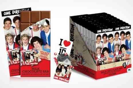 Premium Brands 4 Less - One Direction Confectioneries Chocolate Bar With Sticker - Save 34%