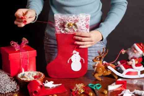 London Textiles Studio - Christmas Stocking Workshop - Save 47%