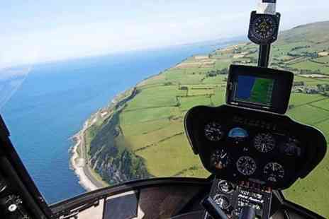 Cutting Edge Helicopters - Giants Causeway and North Antrim Coast Helicopter Tours - Save 51%