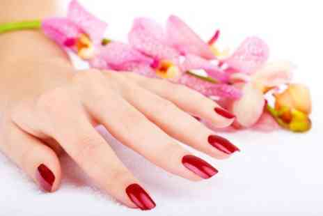Charisma Divine Hair and Beauty - Shellac Manicure or Pedicure - Save 50%