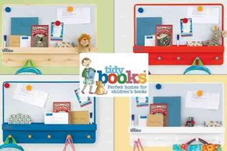 Tidy Books - Gorgeous Family Organiser Shelving Unit - Save 50%