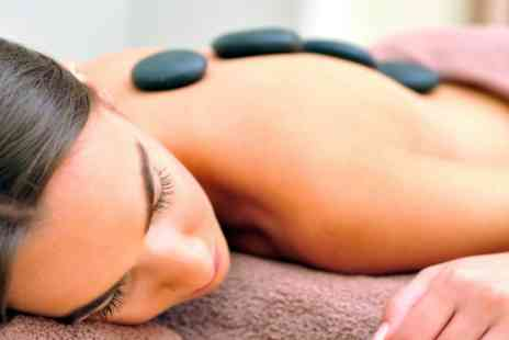 Pamper Lounge - Luxury Pedicure or Manicure and Hot Stones Massage - Save 60%
