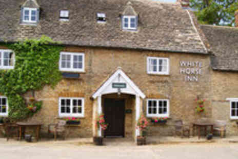 The White Horse Inn - Cotswolds Country Break for Two People Including Dinner and Wine - Save 52%
