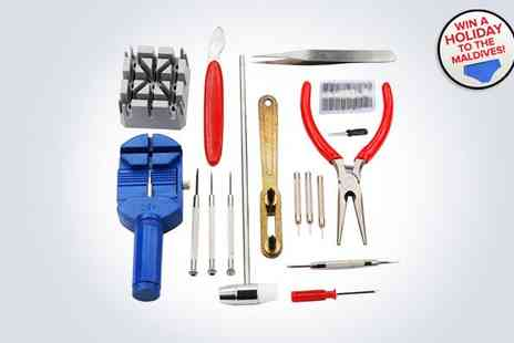 Curtzy - 286-piece watch repair kit - Save 50%