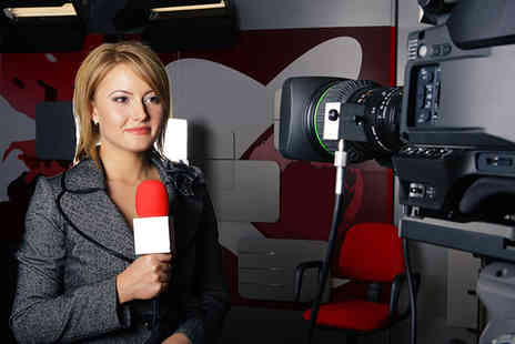 Play Media Training Limited - £19 instead of £49 for a half-day radio or TV presenting workshop, £29 for a full day at Play Media Training Limited, Salford - save up to 61% - Save 61%