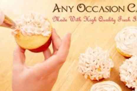 Any Occasion Cakes - Cupcake Decorating Workshop With Vintage Themed Afternoon Tea - Save 67%