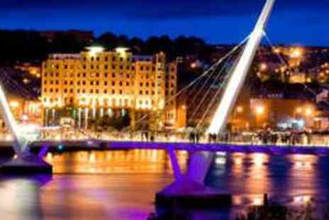 City Hotel Derry - One Night Stay for Two with Dinner and Wine - Save 50%