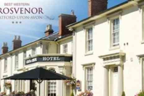 The Grosvenor Hotel - One Night Stay For Two With Three Course Dinner and Breakfast - Save 60%