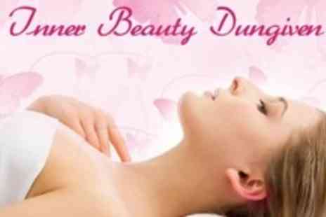 Inner Beauty Dungiven - Pamper Package Including Massage Facial and Hair Treatment - Save 70%