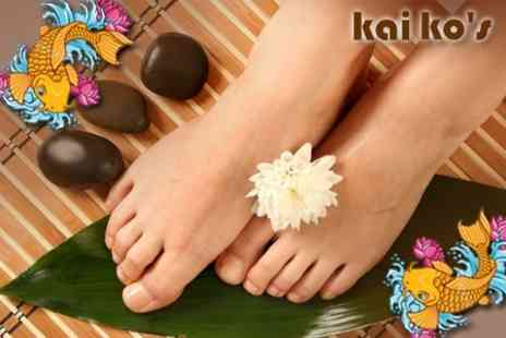 Kai Ko's - Garra Rufa Fish Pedicure With Leg and Foot Massage for £10 - Save 67%