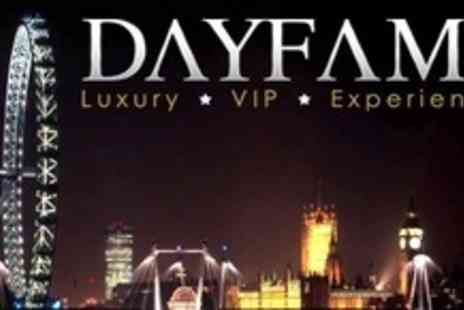 Dayfame - Ticket For VIP Boat Party With Live DJ, Event Photographers, Club Entry, Sparkling Wine, and Canapes - Save 83%