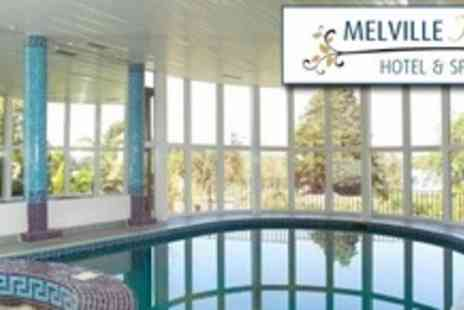 Melville Hall Hotel - One Night Stay For Two With Meal and Spa Treatments Plus Return Car Ferry Crossing - Save 60%