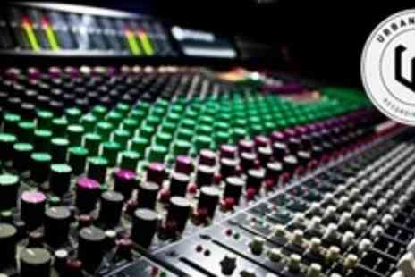 Urban Chain Studios - Full Day Recording Session With Sound Engineer and Producer - Save 66%