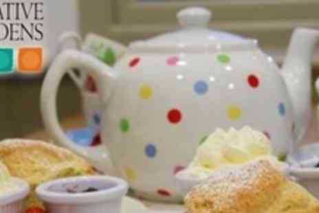 Creative Gardens - Afternoon Tea For Two - Save 53%