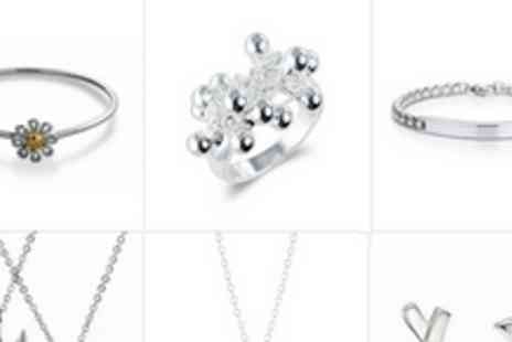 Silver Republic - £50 voucher to spend on jewellery store online - Save 72%