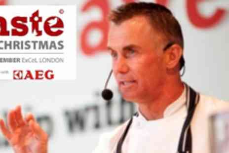 ExCeL - Ticket to Taste of Christmas Food Festival - Save 50%