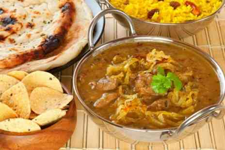 Spice 212 - Two Course Indian Meal For Two - Save 66%