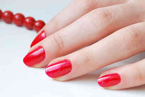 J Adore Nails - Deluxe Shellac Manicure - Save 51%