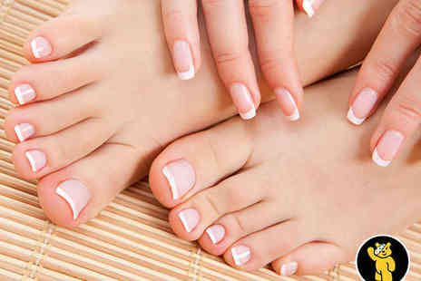 Top to Toe Beauty Salon - Manicure and Pedicure - Save 65%