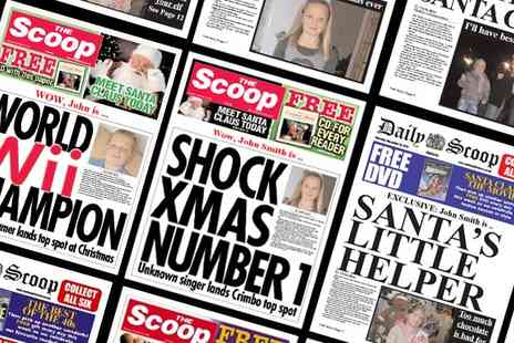 Making The News - Personalised Spoof Newspapers - Save 50%