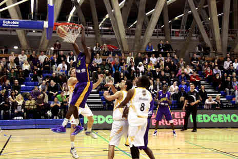 London Lions - 2 x standard tickets the Copper Box - Save 39%