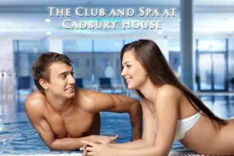 The Club & Spa at Cadbury House - One Month Membership including Health Check and Full Use of Spa Facilities for £24 - Save 68%