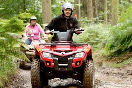 Heart of England - Quad Biking and Laser Clay Shooting - Save 67%