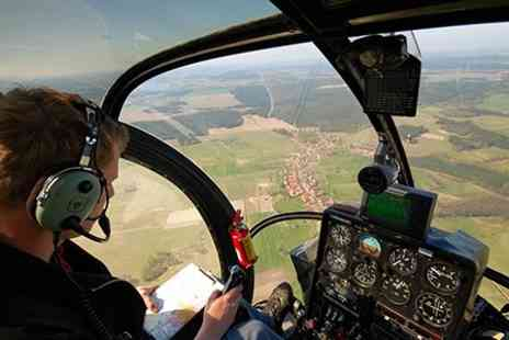 Heli adentures - Heli Adventures Helicopter Flight Over The Cotswolds - Save 44%