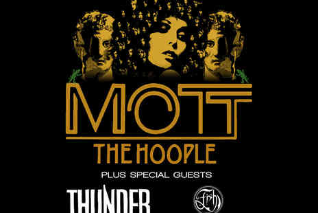 AEG - Ticket to Mott The Hoople Live at the O2 Arena - Save 47%
