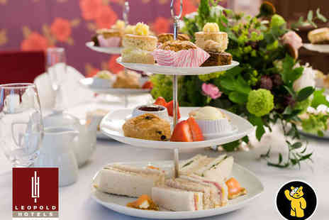Leopold Hotel - Sparkling Afternoon Tea for Two with Glass of Prosecco - Save 30%