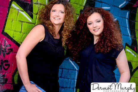 Dermot Murphy Photography - Portrait Session with Makeover and Print - Save 83%