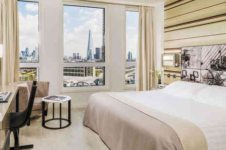 H10 London Waterloo - Overnight London City Break with Three Course Dinner and Breakfast - Save 47%