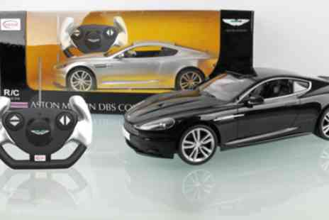 PartyMustHaves.co.uk - Aston Martin Coupe remote control car - Save 56%