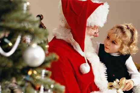 Essex County Council - Visit Santas Grotto Entry For A Child & Two Adults With Drinks & Mince - Save 50%