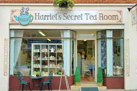 Harriets Secret Tea Room - Festive Afternoon Tea For Two - Save 50%