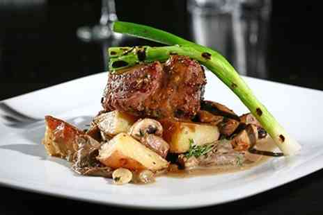 Brea Cafe & Restaurant - Two Course Steak Meal For Two - Save 52%